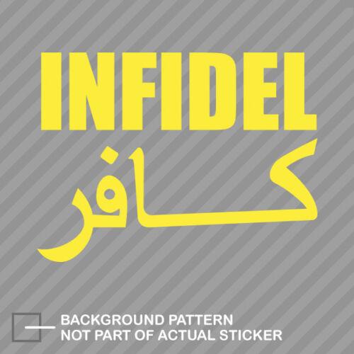 Infidel Sticker Decal Vinyl