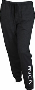 RVCA-Mens-VA-Sport-VA-Guard-Fleece-Sweatpants-Joggers-Black