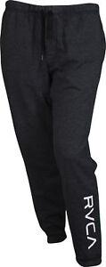 RVCA-Mens-VA-Sport-VA-Guard-Fleece-Sweatpants-Joggers-Black