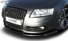 RDX Frontspoiler VARIO-X für AUDI A6 4F bis 2008 (S-Line Frontstoßstange)