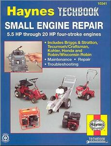 Haynes-Small-Engine-Repair-Manual-5-5-20HP-4-stroke-Briggs-Honda-Robin-Kohler