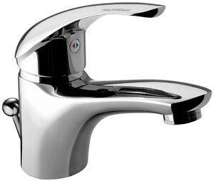 Rubinetto miscelatore per lavabo bagno modello Capri cromato di ...
