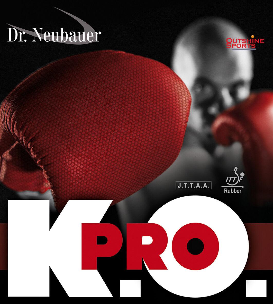 Dr Neubauer K.O. PRO Half-Long Pimples Table Tennis Rubber