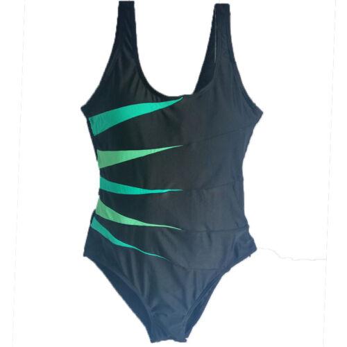 Damen Übergröße Bandage Monokini Bikini Badeanzug Schwimmanzug Bademode GR.36-46