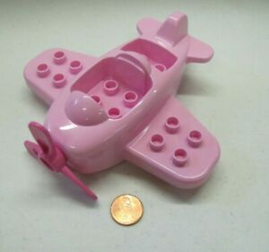 LEGO DUPLO REPLACEMENT PART MINNIE MOUSE PINK AIRPLANE