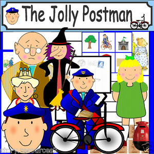 The jolly postman teaching resources story sack ks1 eyfs resource image is loading the jolly postman teaching resources story sack ks1 spiritdancerdesigns Images