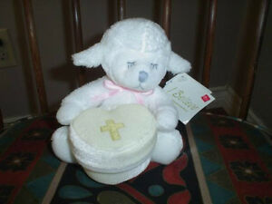 Russ I Believe Sentiments Plush Lamb 26234 Jewelry Box