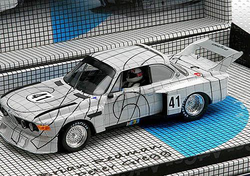 Fly E685 96059 BMW 3,5 CSL 2º ART CAR OF THE MANS
