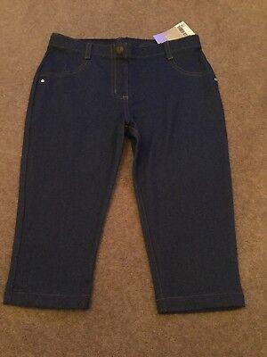 Le Ragazze Jeans Blu Denim Look Leggings/jeggings, Next, Misura 9yrs. Nuovo Con Etichetta-ngs, Next, Size 9yrs. Bnwt It-it Mostra Il Titolo Originale Elegante Nell'Odore
