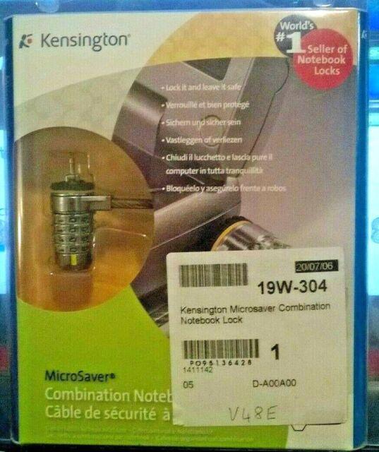 Kensington ClickSafe Combination Laptop Lock Ultra Kabel
