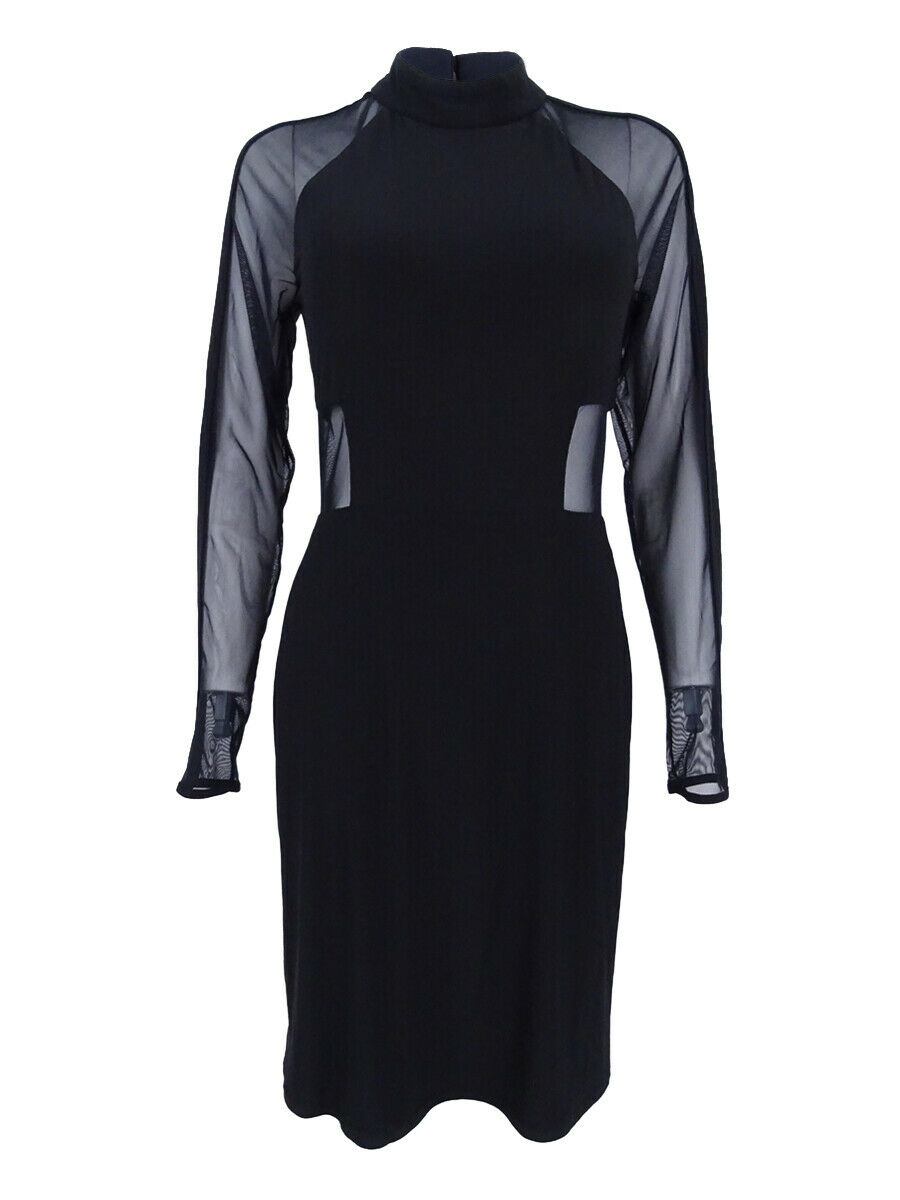ea9d902f905 Nightway Women's Mesh-Inset Bodycon Dress Dress Dress dc1d3a - coat ...