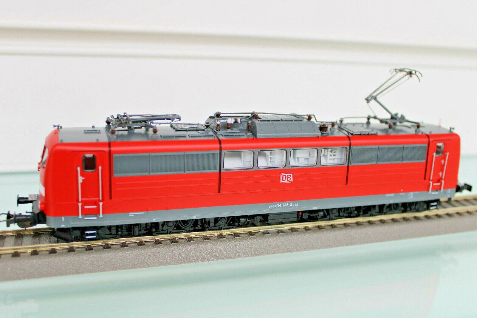 Piko 51306 - H0 - E-Lok Br 151 146-8 DB Ag,Semaforo Rosso Ep. VI - Nuovo in