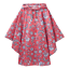 Joules-Poncho-Red-Indienne-Floral thumbnail 1