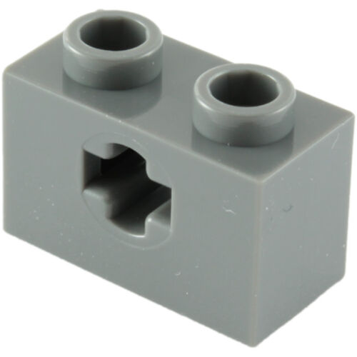 NEW PLUS SHAPE OPENING LEGO 32064 1x2 SINGLE AXLE HOLE SELECT QTY /& COL