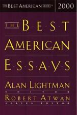 The Best American Essays 2000 (The Best American Series) Robert Atwan~Alan Ligh