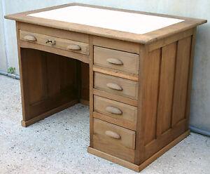Eccezionale scrivania anni 20 banco per dattilografo scrittoio con