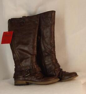 2d0a5307f90 Carlos by Carlos Santana Boots Size 6.5 Wide Calf Brown Tall Shaft ...