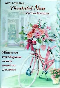 Image Is Loading Nan Birthday Card Various Cards For