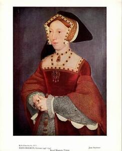 Queen Henry VIII Tudor English 8x10 Print 2031 Jane Seymour by Hans Holbein