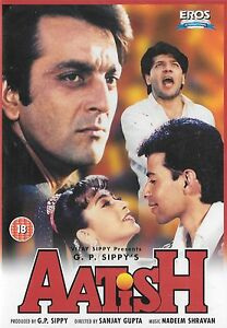 Aatish-Sanjay-Dutt-Raveena-Bollywood-Eros-Neu-Bollywood-DVD
