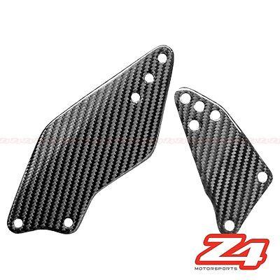 2006-2019 ZX-14 ZX-14R Rearset Foot Peg Mount Heel Guard Plate Cowl Carbon Fiber
