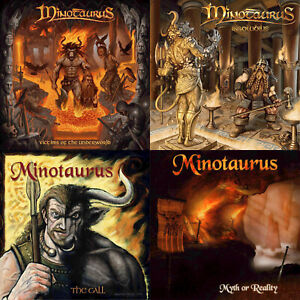 MINOTAURUS-4CD-Bundle-Special-Christmas-Offer-free-sticker-Ancient-Folk-Metal