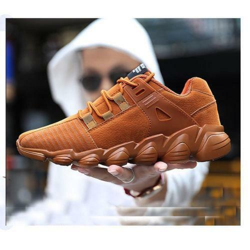 Mens Boys Woven Sneakers Running Sport Shoes Breathable Athletic Tennis Training
