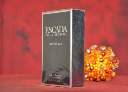 ESCADA POUR HOMME SILVER LIGHT EDT 125ml., DISCONTINUED, VERY RARE, NEW IN BOX