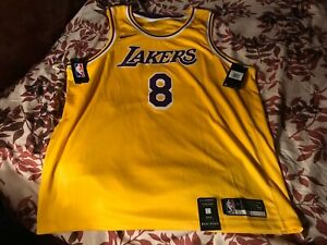 Nike Kobe Bryant Los Angeles Lakers #8 Swingman Icon Edition ...