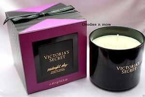 0549acf9e2068 Details about New Victoria's Secret MIDNIGHT SKY 3-wick Scented Candle 14.5  oz.
