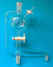 500ml2440glass Solvent Distillation Headstill Head With High Vacuum Valve