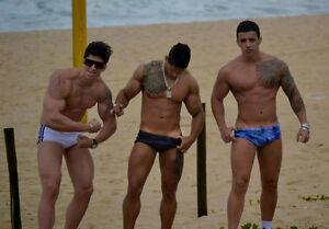 Latino muscle hunks