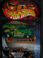 2003 HOT WHEELS HALLOWEEN HIGHWAY VON AUTOS MONSTER DAIRY DELIVERY VAN 2 PACK