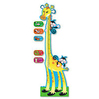 Trend Giraffe Growth Chart Bulletin Board Set 6 Ft T8176