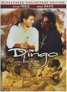 Dingo-DVD-Australian-Film-Colin-Friels-Miles-Davis-All-Regions-NEW-SEALED