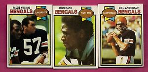 1979-TOPPS-BENGALS-ANDERSON-WILLIAMS-BASS-CARD-INV-A2853