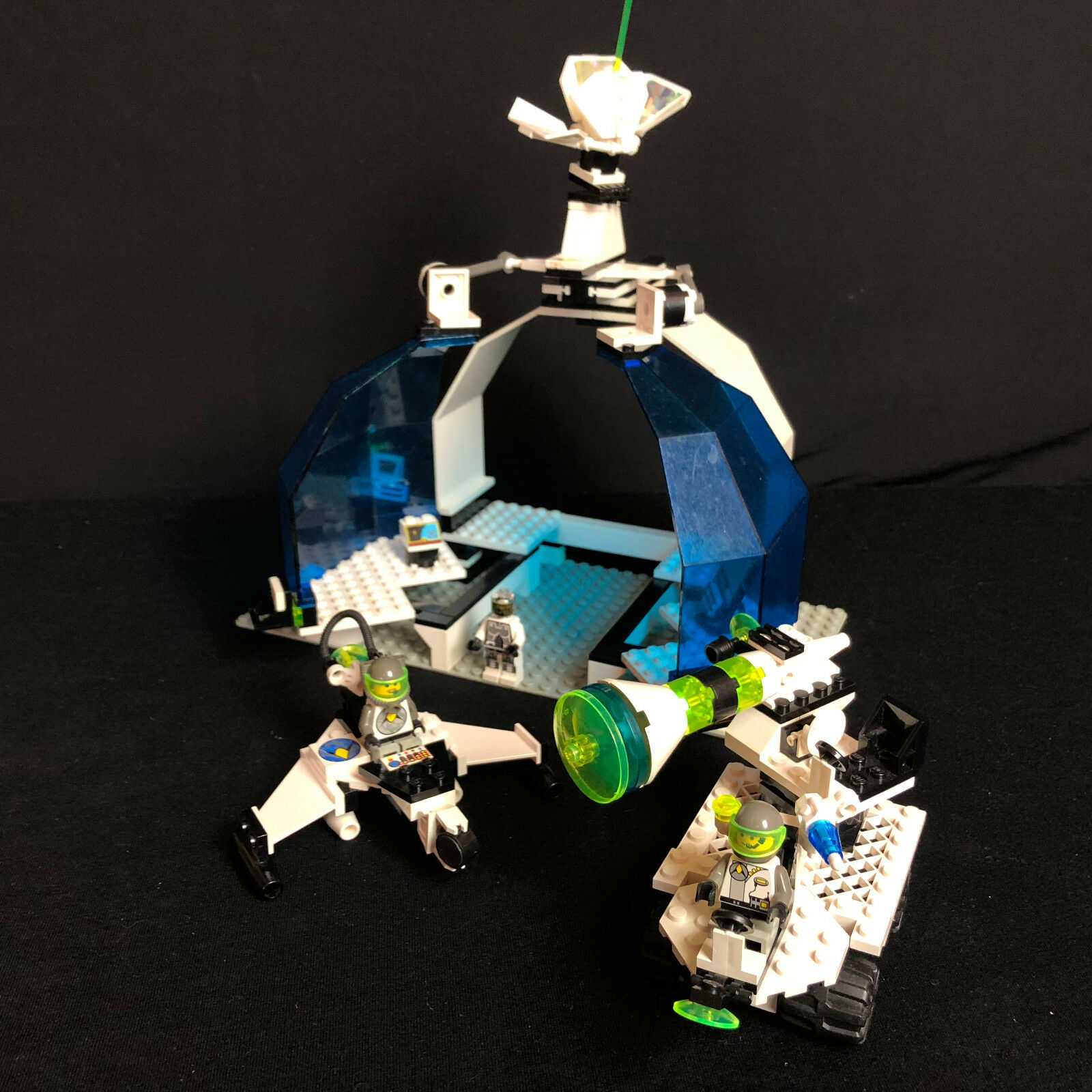 Lego 6958 Space exploriens Classic Space Android base raumstattion complete