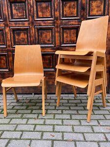 1-40-Stapelstuhl-Vollholz-Stacking-Chair-Cafe-Bar-Seminarraum