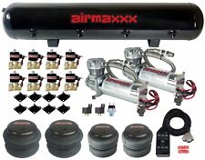 Airmaxxx 480 Chrome Air Compressors 12 Valves 2500 Amp 2600 Black 7 Switch Tank
