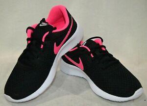 Details about Nike Tanjun (GS) BlackPinkWhite Girl's Running Shoes Asst Sizes NWB 818384 061