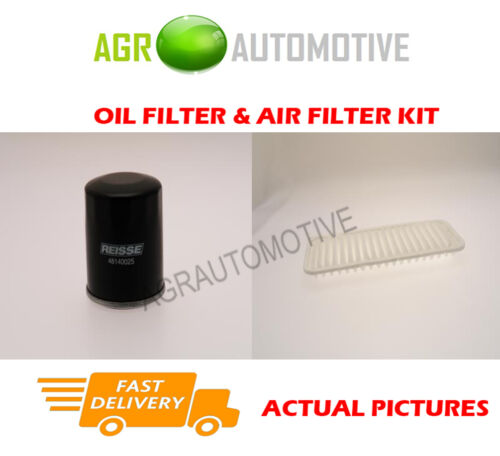PETROL SERVICE KIT OIL AIR FILTER FOR TOYOTA IQ 1.0 68 BHP 2008