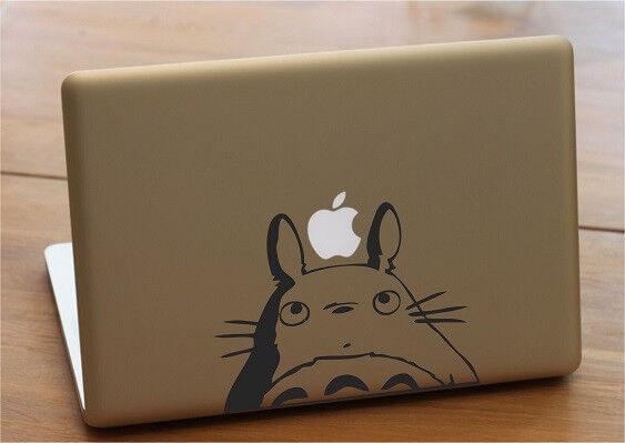 Mac macbook laptop vinyl decal sticker totoro