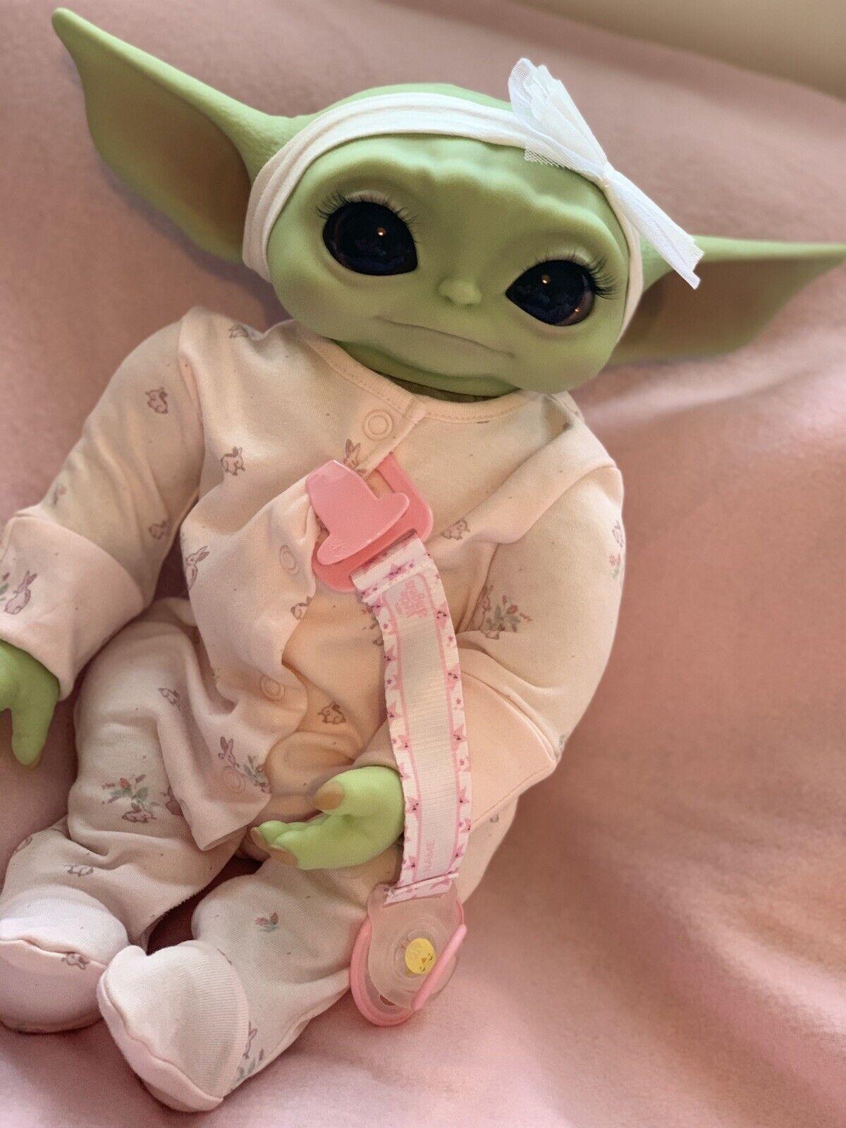 Baby Yoda Reborn Doll