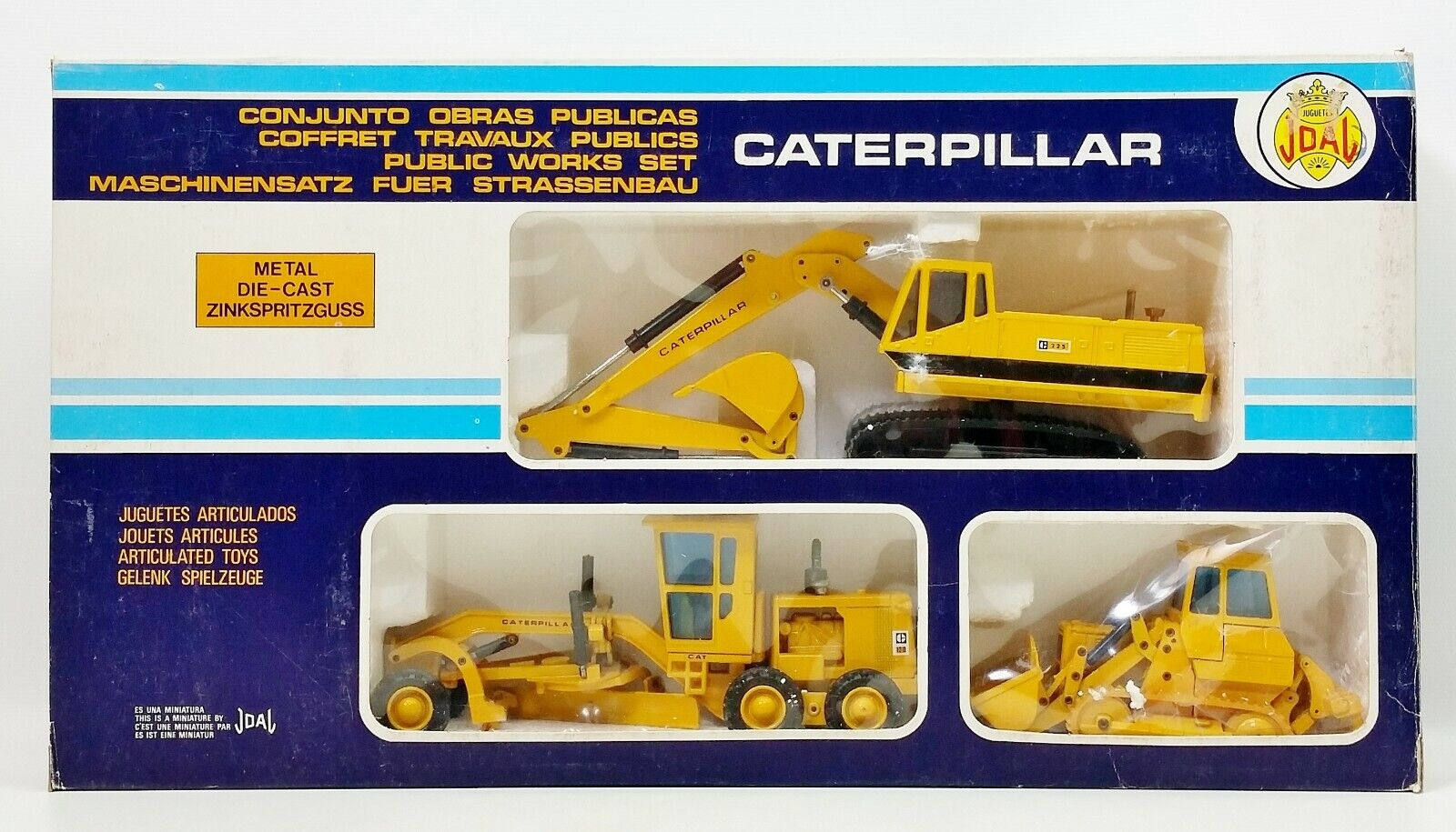 Joal Caterpillar 1 50 Public Works Set Leveller Track Loader Hydraulic Excavator