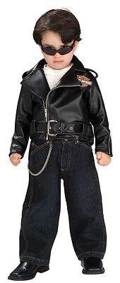 Lil' Wild One Harley-Davidson Biker Fancy Dress Up Halloween Baby Child Costume