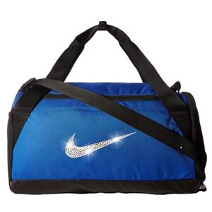 c102ec2f Bling Nike Brasilia Duffel Gym Bag with Swarovski Crystal Bedazzled ...