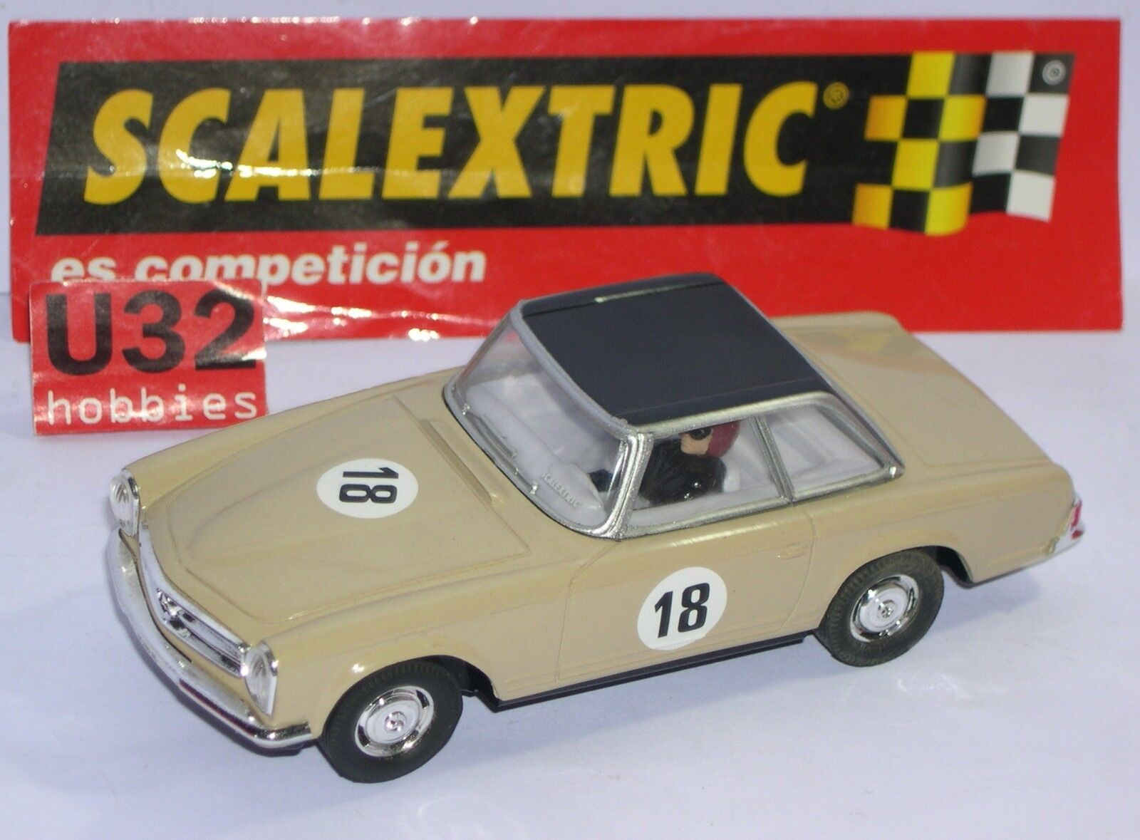 FN SCALEXTRIC SPAIN PLANET AUTOS MYTHISCHE MERCEDES 250 SL PAGODA  18 LTED.ED
