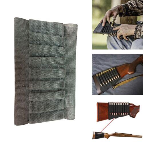 9 Round Rifle Ammo Shell Cartridge Stock Buttstock Holder for .243 .270 .30-06