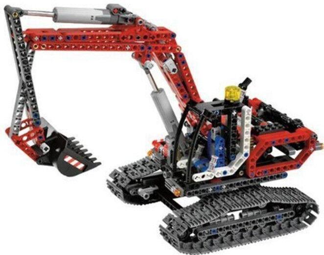 Excavador ingeniería LEGO set 8294 - excavadoras excavadora + funciones potencia completadas