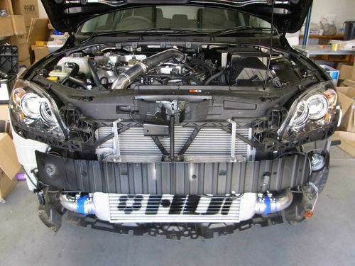 HDI GT2 PRO FMIC complete intercooler kit for Mazda 3 MPS3 Mazdaspeed 3